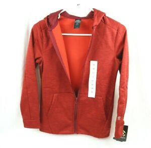 C9 Champion Boys Tech Fleece Hoodie Jacket Zip Up Size M (8-10) Duo Dry Warm NWT