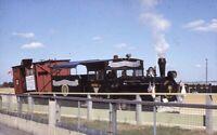 Voiture 803 Nassau County New York TRAM Steam Engine Original Photo Slide