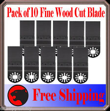 10 Wood Oscillating MultiTool Saw For Blade Milwaukee Fein Multimaster Chicago