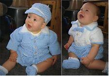 "Crochet pattern Baby/Reborn: Infant Boy MPN CRO111 ""The Dandy"" by Frandor Form."
