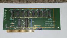 VINTAGE APPLE II MICRO-SCI 1983 1000-0058A CARD BOARD GUARANTEED #78