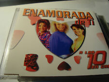 RAR MAXI CD. A LAS 10 EN CASA. ENAMORADA DE TI. 3 TRACKS. BLANCO Y NEGRO