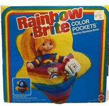 Rainbow Brite 1983 Vintage Color Pockets Mattel - Brand New In Sealed Box Nib