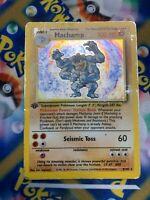 Pokemon TCG Machamp 8/102 Holo Rare Base Set 1st Edition HP