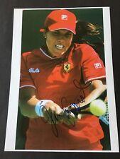 JENNIFER CAPRIATI 3 Grand-Slam-Titel Tennis signed In-person Foto 20x30