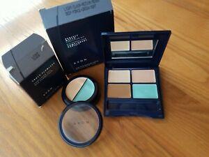 Lot of 2 Avon Perfect Match Concealer Kits Shades Light Medium Deep Green&LIGHT