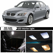 White Interior LED Lights Package for 2004-2010 BMW E60 E61 M5 535i