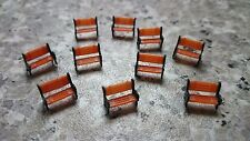 1:150 Scale N Gauge Model Railway Park Platform Station Benches Seats