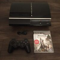 Sony Playstation 3 PS3 Fat Console Bundle NOT BACKWARDS COMPATIBLE