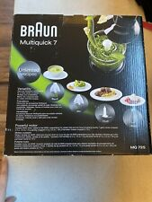 Braun MultiQuick 7 MQ725 Handheld Blender -Premium Black/Stainless Steel
