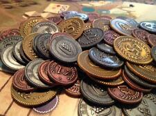 Gaming Tokens: Metal Lira Coins (Money, Markers)