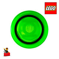 LEGO PICK A BRICK • PIECE 98138pb115 Round 1 x 1 GREEN LANTERN LOGO PATTERN