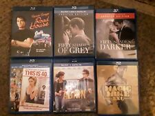 Blueray dvd movies Road House,Fifty Shades Of Grey,Fifty Shades Darker,This...