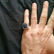 Sterling silver Ring, Lapis lazuli size 8US