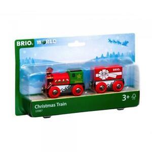 Brio World Eisenbahn Zug Weihnachtszug 2 Teile 33987