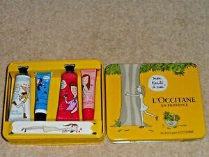 L'OCCITANE NEW SHEA BUTTER HAND CREAM & LIP BALM GIFT SET IN SOLEDAD BRAVI BOX