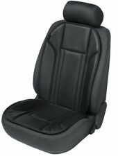 Sitzauflage Ravenna Kunstleder schwarz Sitzschoner Sitzschutz KFZ Auto