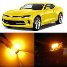 Alla Lighting Front Turn Signal Light 3157 Amber LED Bulb for 94~13 Chevy Camaro