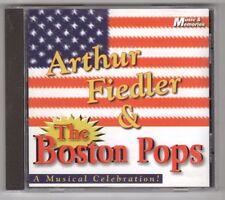 (GY732) Arthur Fiedler & The Boston Pops, A Musical Celebration! - 2002 CD