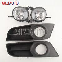 For Toyota Corolla Hatchback 04 2005 06 07 Fog Light Lamp Front Cover Bezel Kit