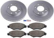Peugeot 206 1.1 i 59bhp Front Brake Discs /& Pads Set 247mm Vented