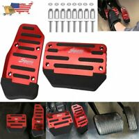 Universal Non-Slip Automatic Gas Brake Foot Pedal Pad Cover Car Accessories USA3