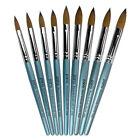 USA 100% Pure Kolinsky Acrylic Crimped Nail Brush Size 6 8 10 12 14 16 18 20 22