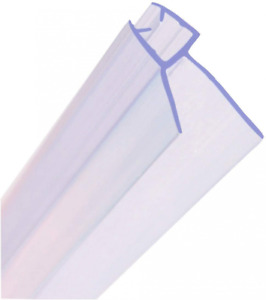 HNNHOME® Clear Bath Shower Screen Door Seal for 4-6mm Glass Up to 18 mm Gap