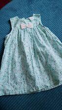 girl 9-12 months light blue summer dress from h&m