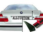 LAME COFFRE SPOILER LEVRE AILERON pour BMW E46 SERIE 3 98-05 320d 330d 330i M M3