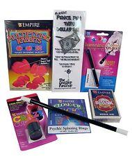 Starter Magic Kit v 2.1 - Cards Rings Rabbits Wand Pen Gems Beginner Great Value