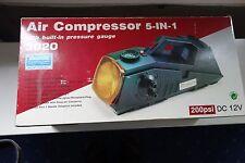 """Luftkompressor Air Compressor 3020 (""""5 in 1"""") (+ Warnlicht)"""