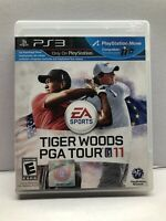 Tiger Woods PGA Tour 11 (Sony PlayStation 3, PS3) Golf Complete Tested Working