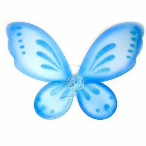 1pc Butterfly Fairy Wings Girls Fairies Costume Party Women's Dress Up Halloween