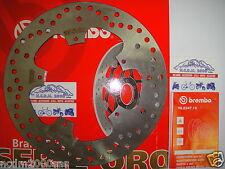 Disco freno Brembo Serie Oro Ant Piaggio 400 Beverly I.e. 06 07