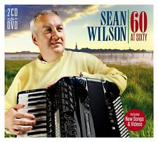 Sean Wilson 60 At Sixty 2 CD & DVD/Singer/Lough Neagh/Derry/Accordion/Player/New