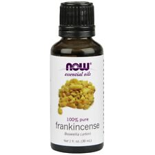 NOW Foods Frankincense Oil 1 oz. FREE SHIPPING. MADE IN USA. FRESH.
