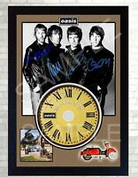 NEW Oasis Be Here Now Liam Gallagher  SIGNED Autographed FRAMED PHOTO CD Disc