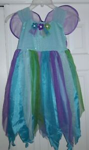 🎃 Girl's M Dress Up Costume Fairy Princess NWT New 7-8 Wings Children's Place