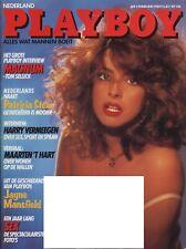 Dutch Playboy Magazine 1984-02 Barbara Edwards, Patricia Steur, Marine Jahan ...