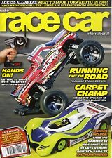 RACE CARE INTERNATIONAL MAGAZINE 2008 APR TRAXXAS STAMPEDE VXL, RS4 DRIFT RTR