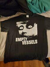 Empty Vessels large concert t-shirt