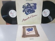 ASPECTS OF LOVE- Andrew Lloyd Webber Cast Recording 2-LP 1989 Soundtrack
