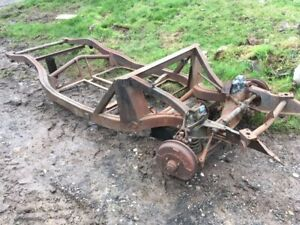 MGA Roadster chassis In good condition  Dry Climate US Import for Restoration