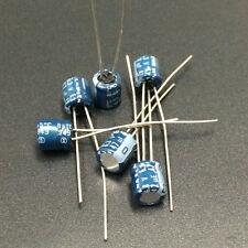 500pcs 47uF 6.3V 5x5mm 6.3V47UF Japan ELNA  Audio Capacitor Blue