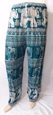 Unisex Hand Made Fair Trade Hippy Yoga Elephant Trousers From Thailand