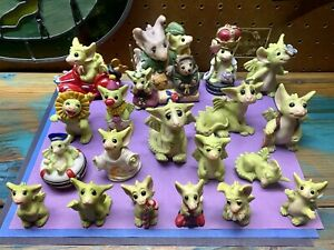 Whimsical World of Pocket Dragons Lot By Musgrave