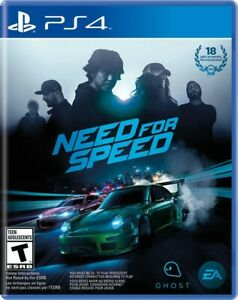 Need for Speed NFS (SONY PlayStation 4 PS4, 2015)