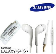 White Earphones Hands free Headphones Samsung Galaxy S3 / S4 / S5 / S6 / NOTE 3