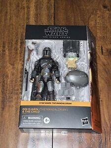 Star Wars - Black Series -( The Mandalorian Din Djarin and Child Grogu )- Target